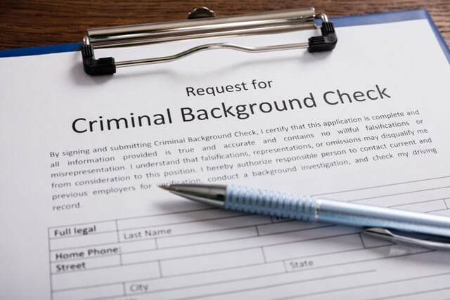 request-for-criminal-check