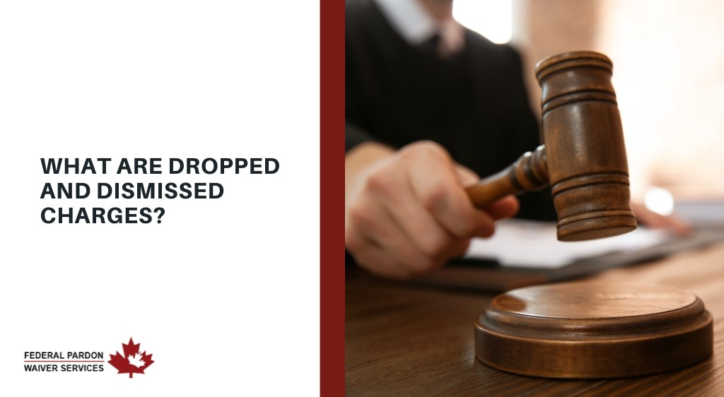 what are dropped and dismissed charges